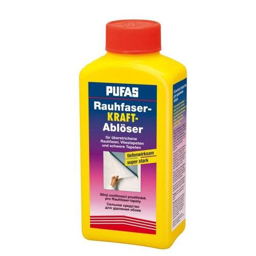 Pufas Rauhfaser Kraft Ablöser - 1 Liter Tapetenablöser 1 Liter