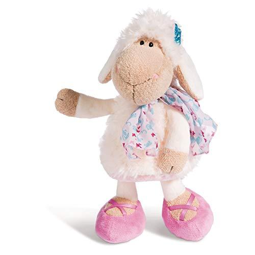 Nici Plüschtier Schaf Jolly Journey 25 cm – Schaf Kuscheltier für Mädchen, Jungen & Babys – Flauschiges Stofftier zum Kuscheln, Spielen und Schlafen – Schmusetier für Kuscheltierliebhaber – 44267