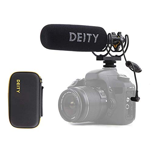 Deity V-Mic D3 Pro Shotgun Mikrofon mit Kaltschuhen Rycote Shockmount für Digitale Spiegelreflexkameras, Camcorder, Smartphones,