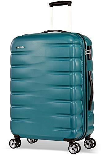 Probeetle by Eminent Suitcase Voyager VII 2.0 M 68cm 71L Travel Luggage Lightweight Hardside 4-Wheel Trolley Ocean Blue