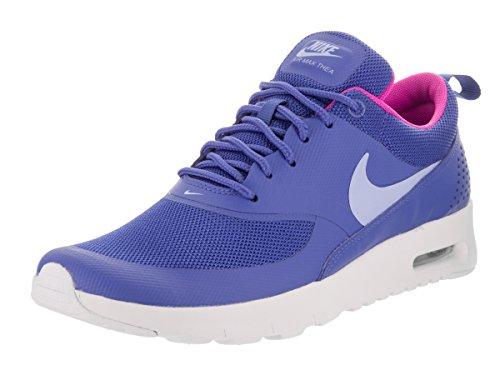 Nike Kids Air Max Thea (GS) Comet Blue/Aluminum/White Running Shoe 6.5 Kids US