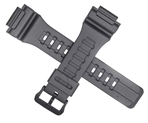 Correa de reloj Casio genuina para AQ-S810W-8AV W-735H, gris y gris 10452143