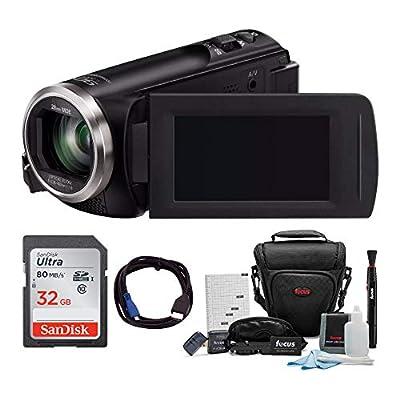 Panasonic HC-V180K Full HD 1080p Camcorder w/ 32GB Accessory Bundle by Panasonic