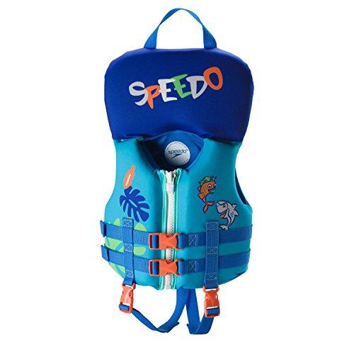 Speedo Infant Neoprene Lifevest- One Size up to 30lbs