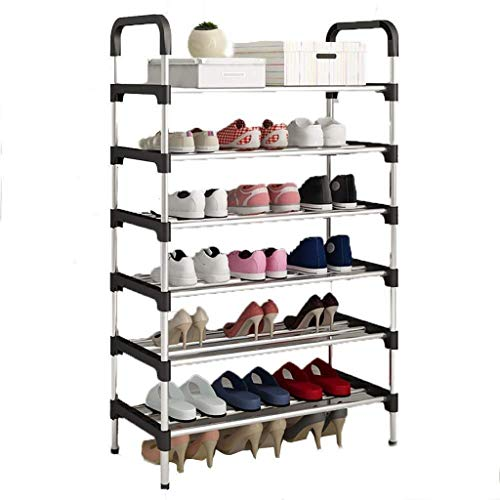 Diaod Apilable Zapatero, Ampliable y Zapato Ajustable Estante del Organizador del almacenaje