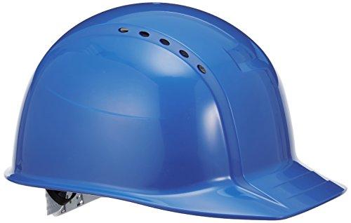 TOYO 通気孔付きヘルメット No.360F ロイヤルブルー 軽量 通気孔付 日本製