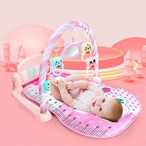 ZHJIUXINGZD Soft Play Piano Gym, Baby Play Mat, Fitness Rack Educación Temprana, Música Y Sonidos, Recién Nacido Baby Play Mat Regalo