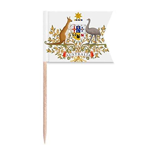 Beauty Gift Canberra Australia National Emblem Markierung für die Kennzeichnung von Zahnstocher-Flaggen