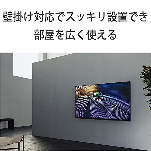 ソニー55V型有機ELテレビブラビアXRJ-55A90J4Kチューナー内蔵GoogleTV(2021年モデル)