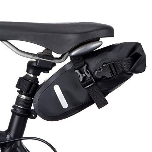 BTR Wasserfeste Allwetter Fahrradtasche für den Sattel, Satteltaschen für Fahrrad. Recycelbare Verpackung