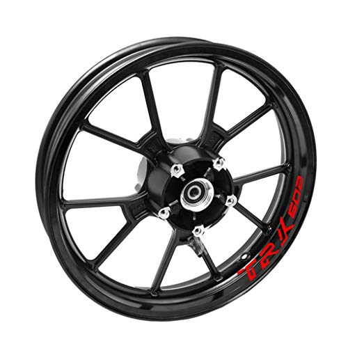 psler Compatible with Motorcycle Outer Rim Sticker Stripe Wheel Decals Benelli TRK 502
