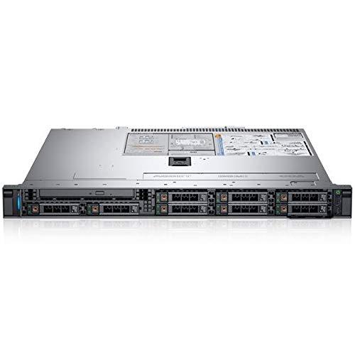 Dell PowerEdge R340 Rack-Server, Silber, Intel Xeon E-2144G, 32GB RAM, 2x 1TB SATA, Dell 3 YR WTY + EuroPC Garantie Assist, (Renewed)