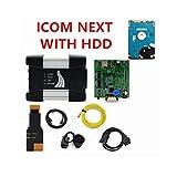 YULUBAIHUO Scanner V2020.05 ISTA FIT para BMW ICOM A2 + B + C ICOM Next WiFi Tool de diagnóstico y programación para BMW Soporte Multi-Idioma (Color : Next Full Set HDD)