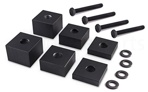 Ohio Diesel Parts Front Driver Seat Spacer Lift Recline Kit for Ford Truck F-150 2015+/F-250, F-350...