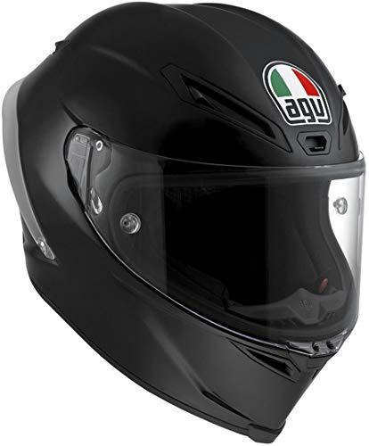 AGV Motorradhelm Corsa R E2205 Solid PLK, Matt Schwarz, Größe XL