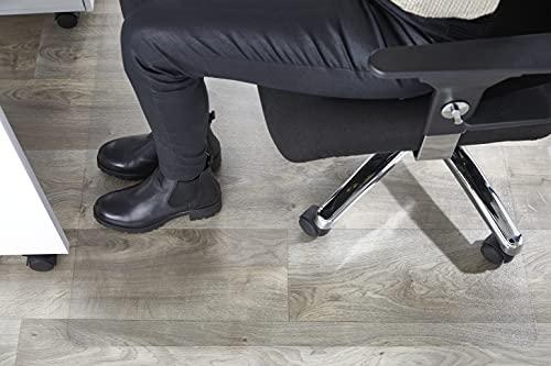 Andiamo 200096 - Alfombrilla protectora para suelo, 100% PET , 74 x 120 cm, Transparente 🔥