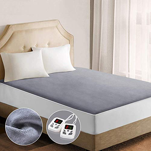 Heated Mattress Pad Underblanket Dual Controller for 2 Users...