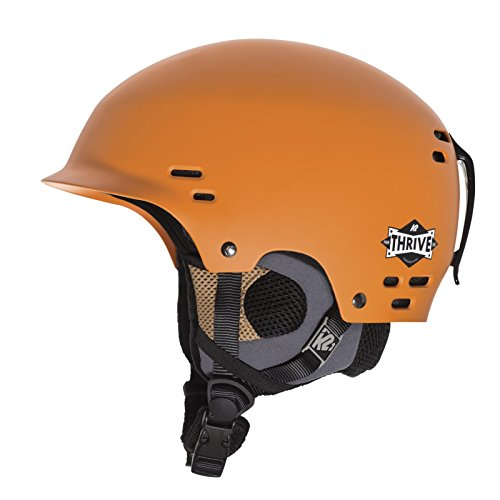 K2 Skis Herren Helm Skihelm Thrive,, Rust Orange