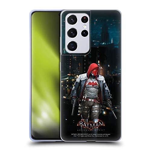 Head Case Designs Oficial Batman: Arkham Knight Capucha Roja Personajes Carcasa de Gel de Silicona Compatible con Samsung Galaxy S21 Ultra 5G