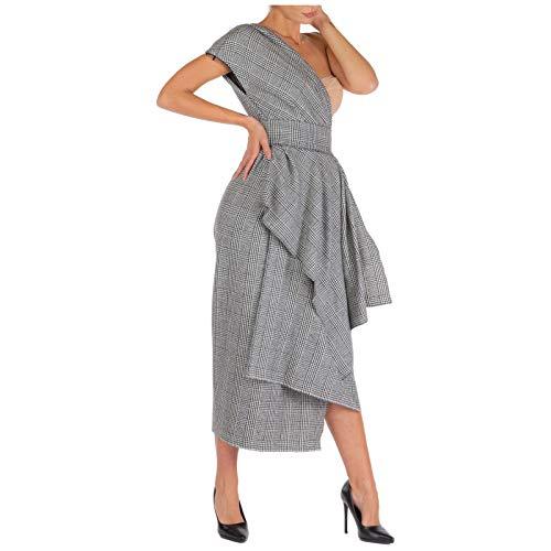 Dolce&Gabbana Mujer Vestito al ginocchio Grigio