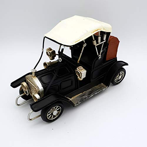 DynaSun Art Modelo de Coche de Época Vintage de Metal, DE colección de Estilo Retro Antiguo Escala 1: 3216cm