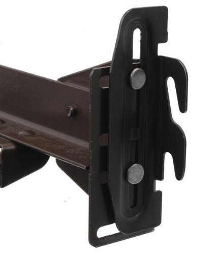 CAFORO Conversion Bracket Adapter Plate Kit Bed Frame to Headboard or Footboard Attachment #35 Down Hook Plates - Pack of 4