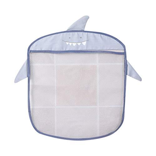 Qirun Producto de Suministros para el hogar, Bolsa organizadora de Juguetes para el baño Ganchos de Ventosa Fuertes Evita caídas Secado rápido