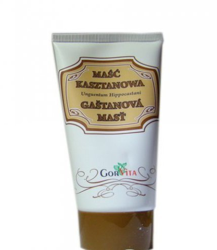 Gorvita Kastanien-Salbe, 130 ml