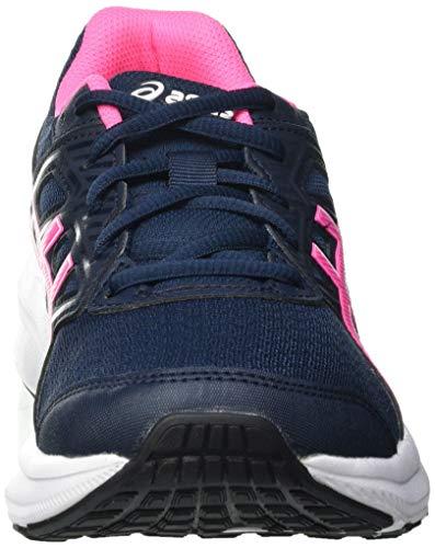 Asics Jolt 3, Road Running Shoe Mujer, French Blue/Hot Pink, 39 EU