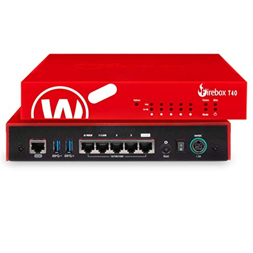 Trade Up to WatchGuard Firebox T40 Security Appliance with 3-yr Total Security Suite (WGT40673-US)