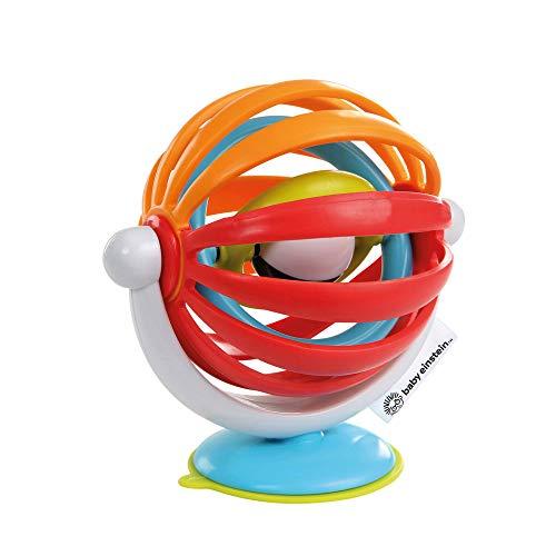 Baby Einstein, Sticky Spinner Spielzeug, perfekt auf Reisen oder für unterwegs, saugfähiger Boden zum Anbringen auf glatten Oberflächen