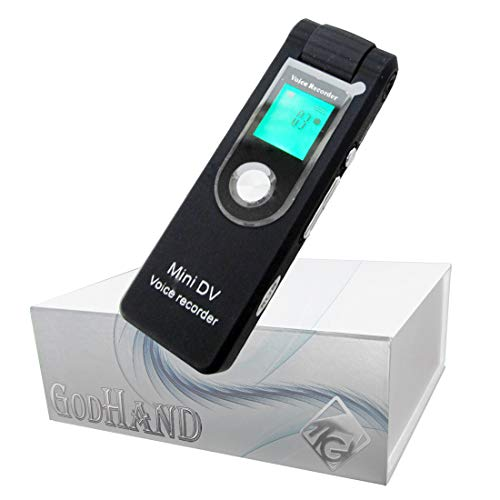 【GOD HAND】90度可動レンズ!! GD-VR252 ボイスレコーダー型ビデオカメラ 音声再生、ミュージックプレイヤー、WEBカメラ【KANTO-SEIKO 正規保証書付き】