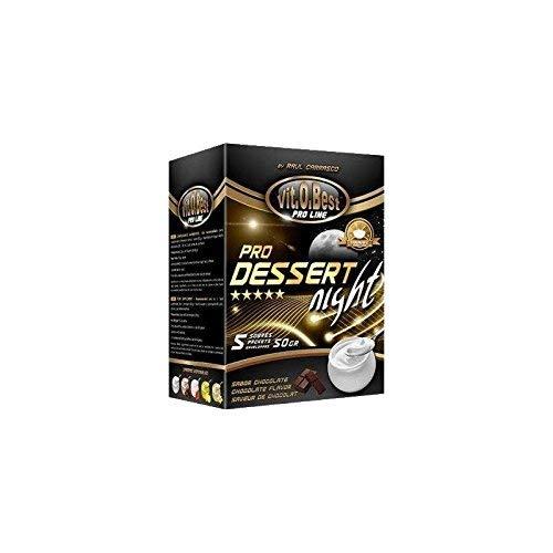 DESSERT NIGHT CHOCOLATE 10 SOBRES 40 g - Suplementos Alimentación y Suplementos Deportivos - Vitobest