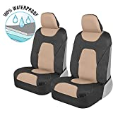 Motor Trend AquaShield Car Seat Covers for Front Seats,...
