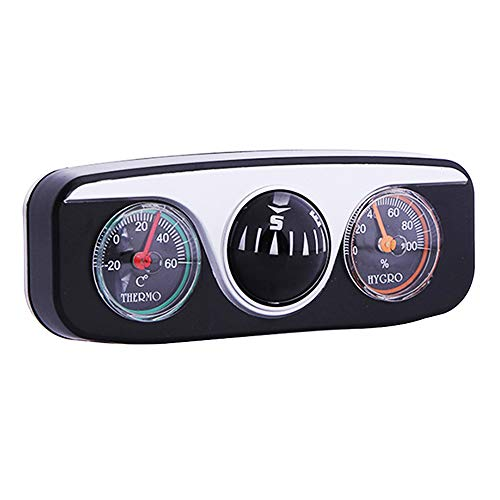 CAMORNY Multifunctionele Kompas Auto Navigatie Kompas Thermometer Hygrometer Outdoor Travel Tool Draagbaar 3 in 1 Auto Onderdelen