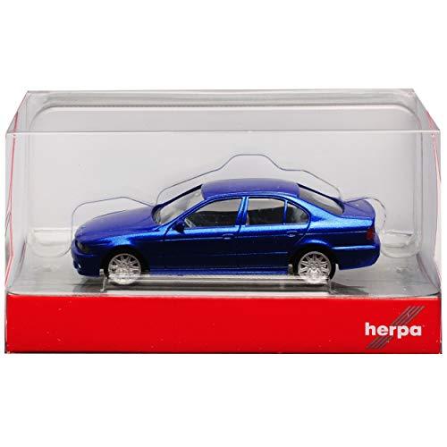 013150 BMW 5er schwarzmetallic in Dealer Klappbox #9503 Herpa 1//87 Nr