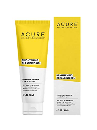 Acure Organics, Facial Cleanser, SuperFruit + Chlorella Growth Factor, 4 oz (120 ML)
