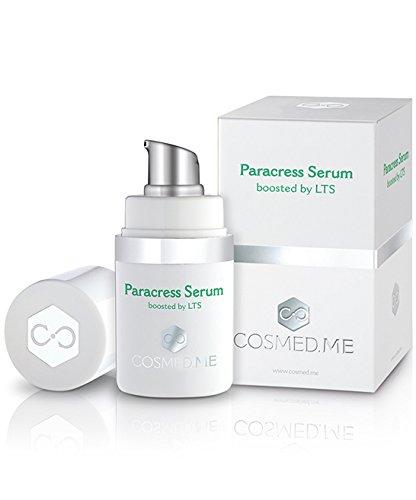 Premium Anti-Aging Serum - Gesichtspflege mit Spilanthol aus Parakresse (Paracress) - 100% vegane Naturkosmetik mit hochkonzentrierten Wirkstoffen - biologische Antifalten-Creme - 15ml