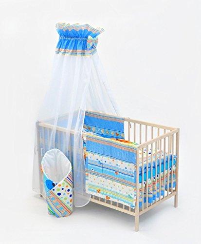 Completo conjunto set cama cuna bebé nino 13 elementos