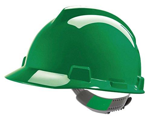 MSA V-Gard, elmetto antinfortunistica da cantiere in vari colori., Verde