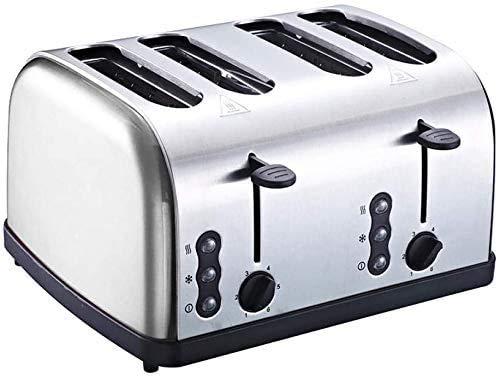 Breadmaker Bakken Brood Machine Huis Automatic Multi-Function 4 delige ontbijt spit Driver Roestvrij staal kleine broodrooster-4-delige Broodrooster (Single Machine) 8bayfa
