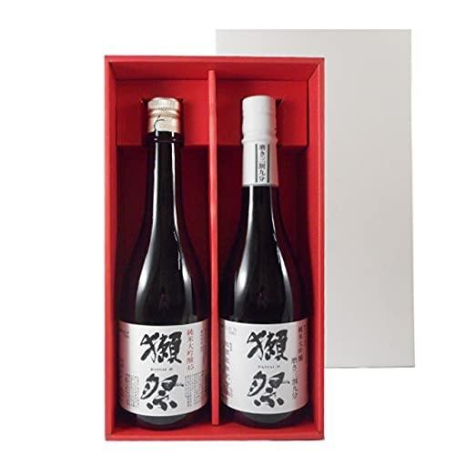獺祭 飲み比べセット 純米大吟醸 磨き45/39 720ml 2種 獺祭専用紅白ギフトボックス 山口県 旭酒造 日本酒