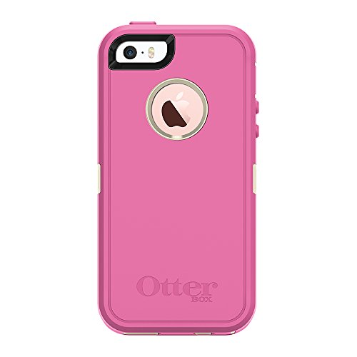 OtterBox DEFENDER SERIES for iPhone 5/5s/SE - Retail Packaging - BERRIES N CREAM (SAND/HIBISCUS PINK)