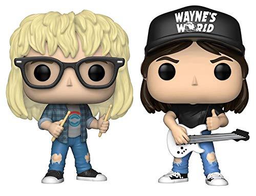 Funko Pop! Movies: Figuras coleccionables de vinilo Wayne's World, 9,5 cm (juego de 2)