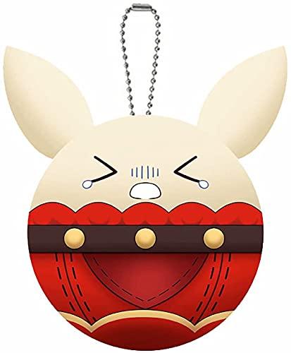 Simpatico portachiavi a forma di anime, portachiavi Kawaii, accessorio per borsa, zaino, regalo per bambini e adulti, e, s,