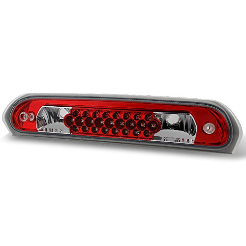 For Dodge Ram 1500 2500 3500 Pickup Truck LED 3rd Brake Light Third Signal Stop Cargo Tail Lamp Red
