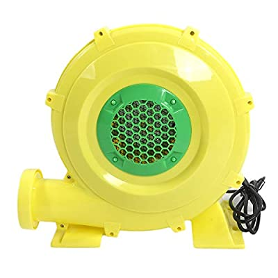 Hommoo Air Blower Pump Fan Commercial Inflatable Bounce House Blower for Bouncy Castle,Water Slides,Jumpers (680 Watt 0.92 HP)
