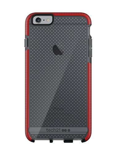 Tech21 Evo Mesh for iPhone 6 Plus/6S Plus - Smokey/Red