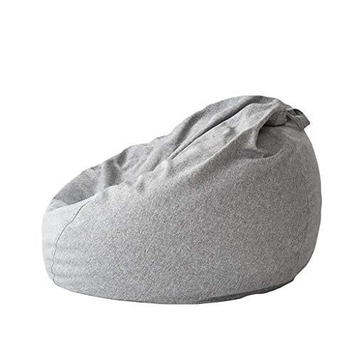 Chaises Longues canapé Chaise de Loisirs canapé Bean Bag Dossier Balcon Chambre à Coucher Loisirs Portatif 5 Couleurs 110 * 90cm (Couleur : B)