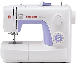 SINGER | Simple 3232 Sewing Machine with Built-In Needle Threader, & 110 Stitch..